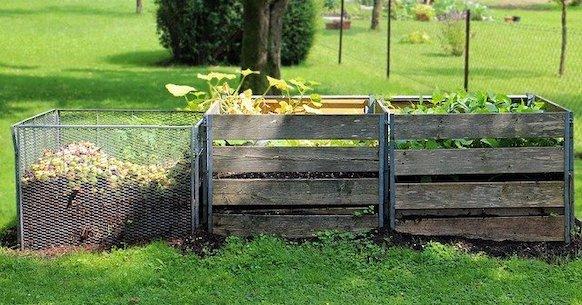 Compost giardino