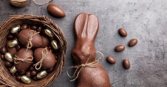 Uovo di cioccolato Pasqua
