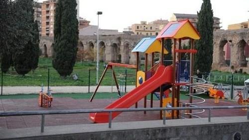 Parco giochi fotovoltaico a Roma