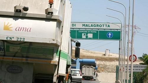 Discarica di Malagrotta a Roma