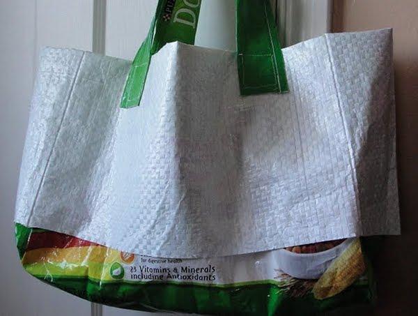 riciclo creativo borsa mare