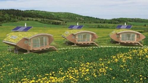 Bioedilizia casa serra a energia solare in svezia - Casa ecologica autosufficiente ...