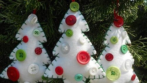 Decorazioni Fai Da Te Natale : Decorazioni fai da te per alberi di natale greenstyle