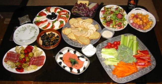Buffet Di Insalate Miste : Ricette per buffet per inaugurare casa nuova greenstyle