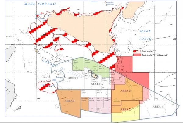 offshore Italia malta sovrapposizione
