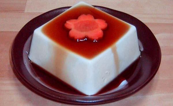 Tofu con salsa di soia e carote
