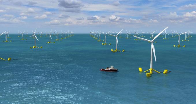 Una flotta di velieri per «raccogliere» energia eolica in mare Eolico_galleggiante_001