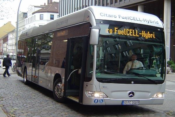 cinque autobus all'idrogeno per Bolzano