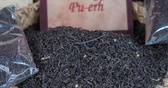 Tè Pu-Erh foglie
