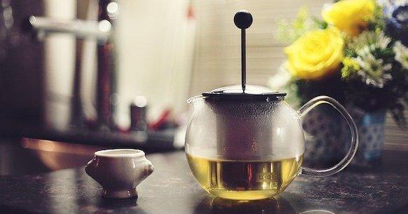Tè verde teiera
