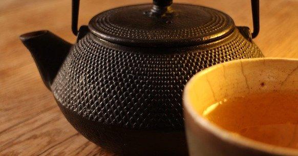 Teiera tè giallo
