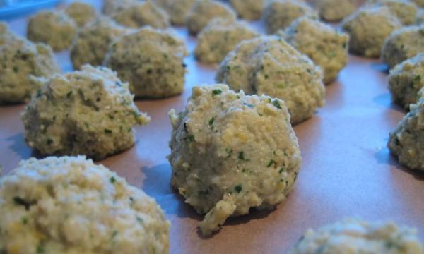 falafel preparazione