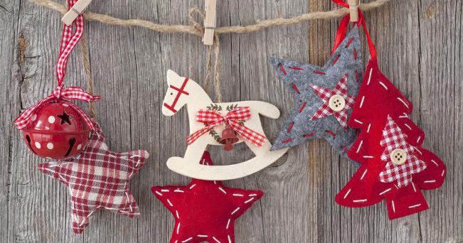 Sedie Decorate Per Natale : Decorazioni natale veloci greenstyle