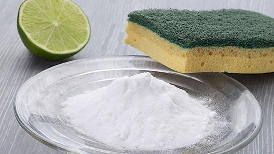 Bicarbonato per pulizia