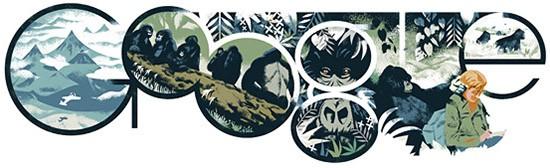Doodle per Dian Fossey