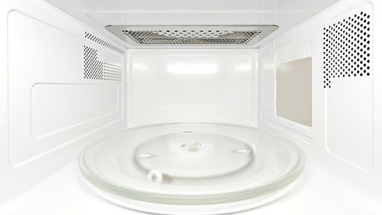 Interno forno a microonde