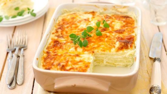 Teglia di lasagne vegetariane