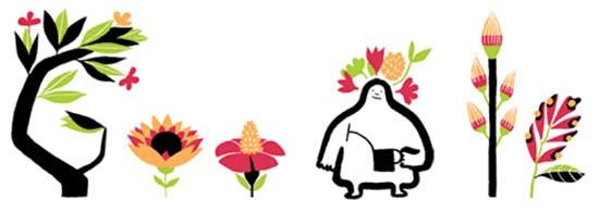 Doodle di Google per la primavera