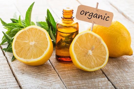 Limone, olio essenziale bio