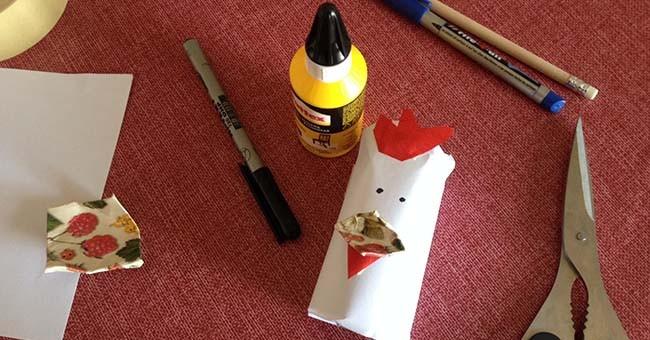 Rotoli Di Carta Igienica Riciclo : Pasqua e riciclo creativo le gallinelle greenstyle