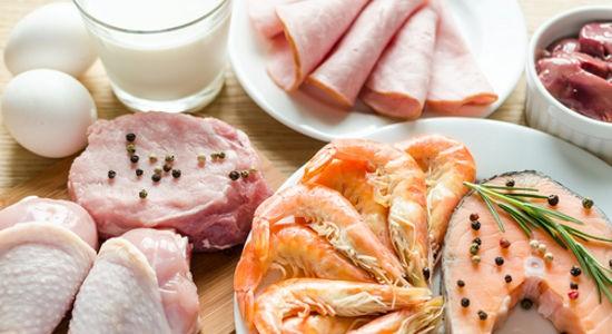 Ingredients for protein diet via Shutterstock