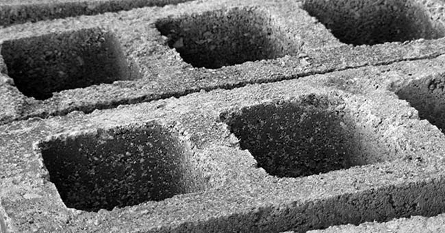 Blocchi di cemento o di tufo: idee da giardino - GreenStyle
