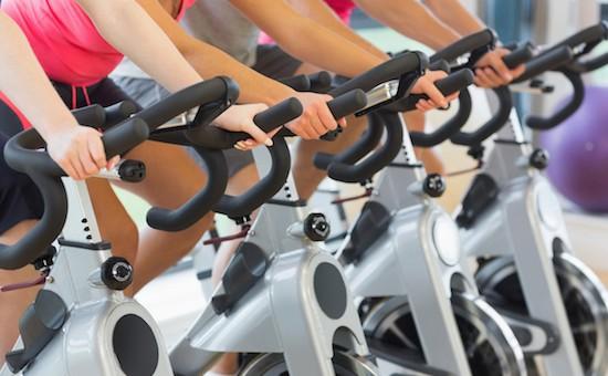Esercizi con cyclette