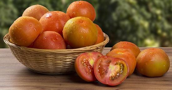 Pomodori, cesto