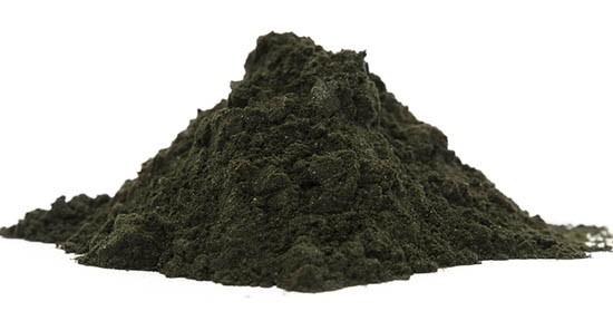 Alga Klamath in polvere