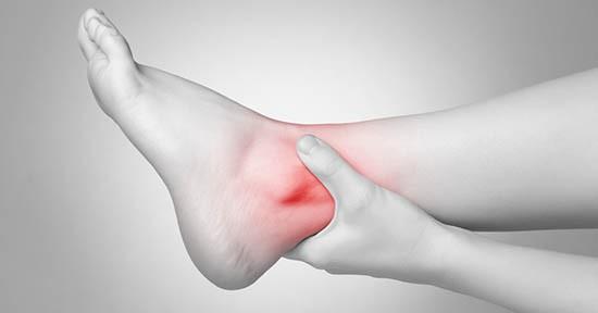 Distorsione caviglia, dolore