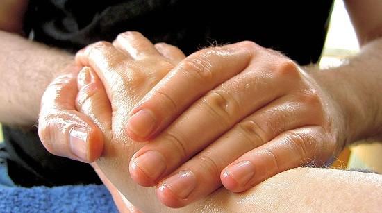 Massaggio dellla mano