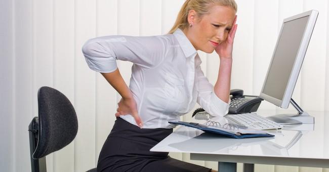 Mal di schiena: computer causa principale - GreenStyle