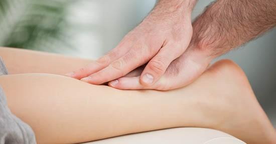 Fisioterapia al polpaccio
