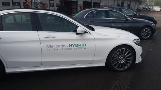 Mercedes C300 Blue Tec Hybrid