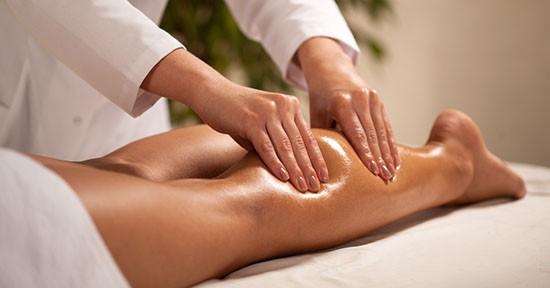 Massaggio al polpaccio
