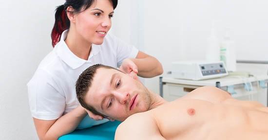 Fisioterapia al collo