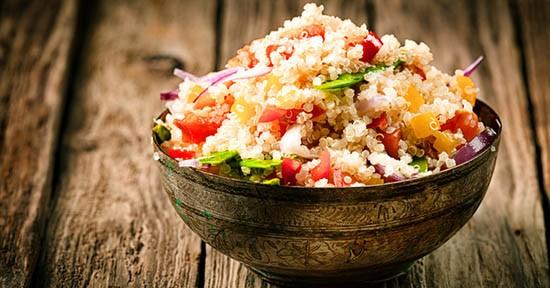 Quinoa in cucina