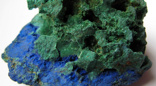 Azurite-Malachite from Marocco