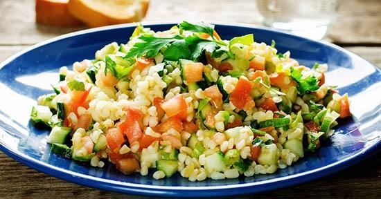 Bulgur in insalata