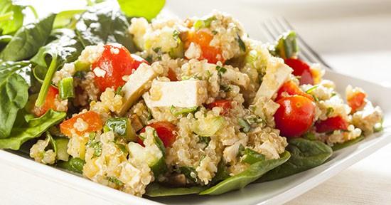 Quinoa e Tofu