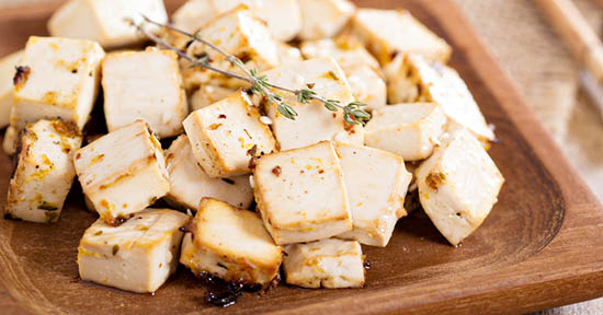 Tofu rosolato