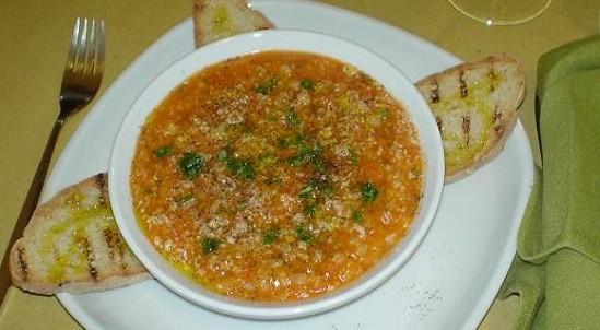 Zuppa di farro, miglio e lenticchie
