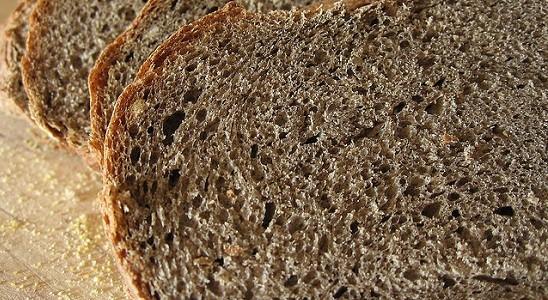 Velvety Buckwheat Bread - Sliced