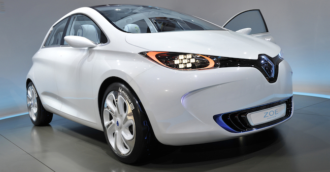 : Renault Zoe porta l'autonomia a 240 chilometri Renault ZOE ...