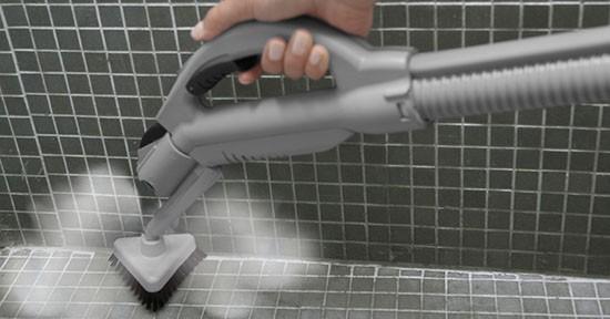 Vapore in bagno