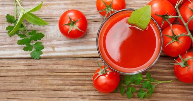 Succo di pomodoro, pomodori freschi