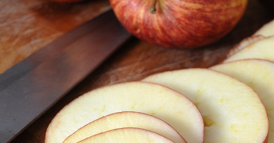 Le mele sono ricche di fibra alimentare.