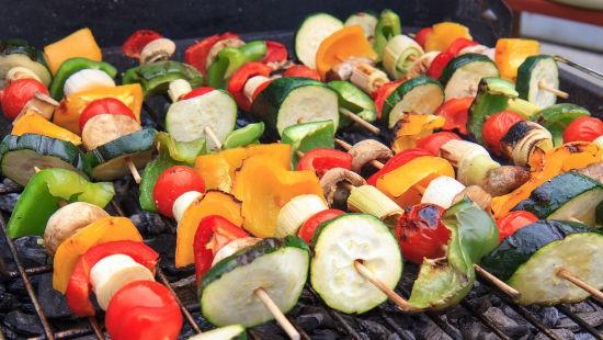 Verdure e griglia