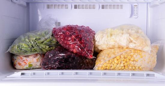 Alimenti in freezer