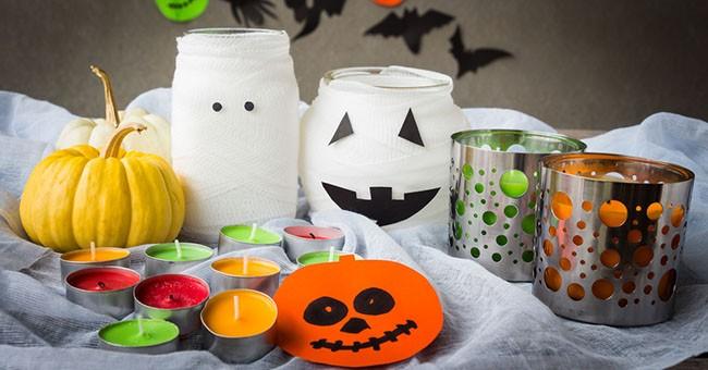 Bricolage decorazioni di halloween consumi greenstyle for Decorazioni halloween finestra